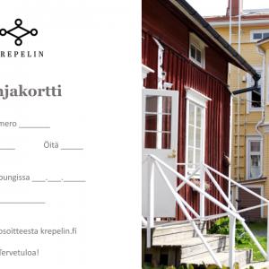 Hotelli Krepelin - Verkkokauppa - Lahjakortti