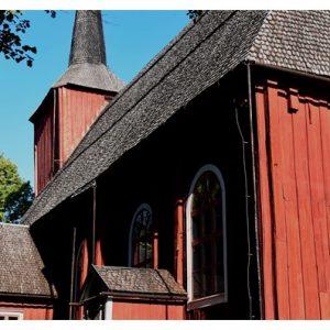Hotelli Krepelin - Kauppa - Postikorttikokoelma - Kristiinankaupunki - Ulrika Eleonoran kirkko