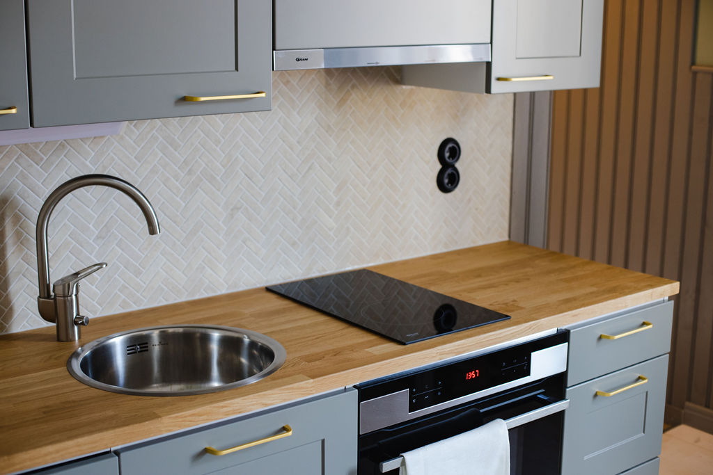 Hotel Krepelin - Rooms - A3 - Kitchen