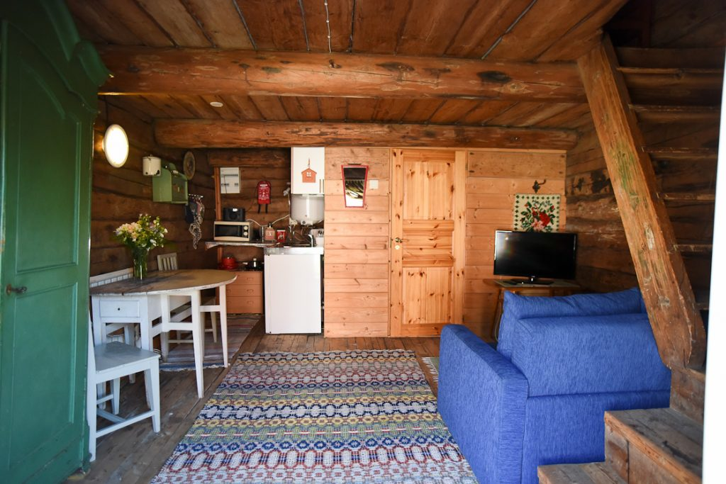 Hotel Krepelin - Rooms - D2 - Living room and kitchen